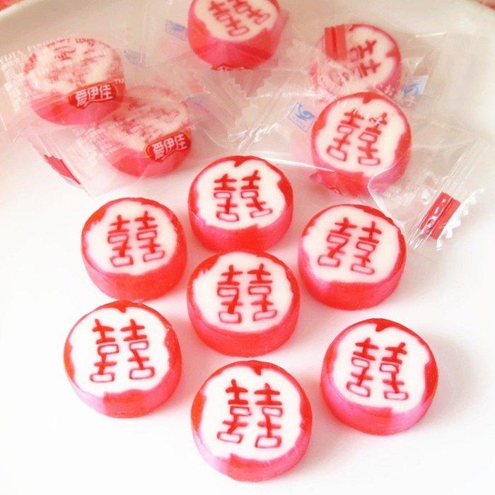 5Cgo【權宇】韓國愛伊佳進口水果糖 硬糖 切片 手工糖果 結婚喜糖 雙囍糖 250g約60顆保存期一年 含稅會員扣5%