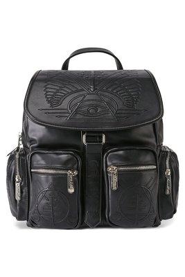 【丹】KS_Delirium Backpack 黑色 埃及 三角形 法老王 風格 後背包 肩背包