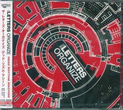 K - The Letters Organize - Dead Rhythm Machine - 日版 - NEW