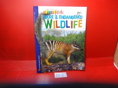 【愛悅二手書坊 01-07】Australian Rare & Endangered Wildlife