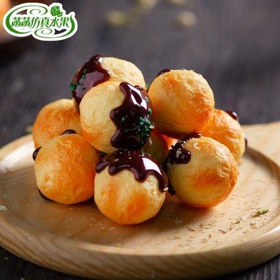 人造章魚小丸子 假章魚燒日式食物模型 食品玩具美食菡菡 人造水果