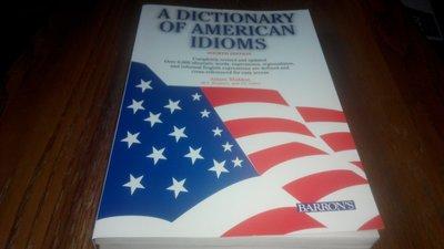 (共2本)A DICTIONARY OF AMERICAN IDIOMS*近全新+NTC American Idioms
