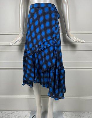 [我是寶琪] Preen Line By Thornton Bregazzi 藍色荷葉一片裙