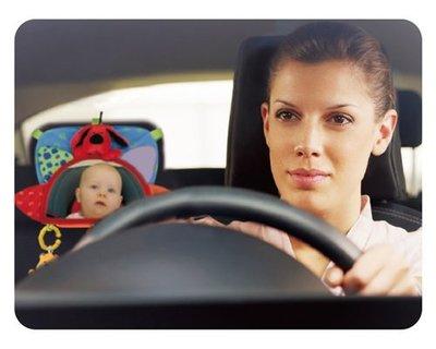 *╮叮噹玩具坊╭* 台灣麥克 k's kids 奇智奇思 Baby's rear view mirror 寶寶的汽車後視