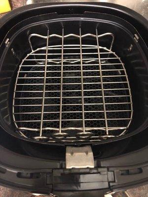空氣炸鍋飛利浦空氣炸鍋配件HD9904雙層燒烤架 適用 HD9220 HD9225 HD9232