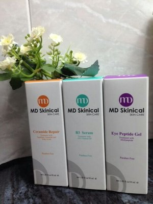 MD Skinical 3寶(18% serum, Eye Peptide Gel& ceramide repair)