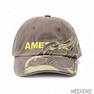 【WEEKEND】 VETEMENTS America 美國 帽子 棒球帽 潮帽 鴨舌帽 灰色 18秋冬
