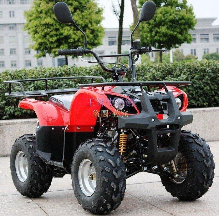 【凱迪豬廠家直銷】 125cc越野車 沙灘車 3進1倒檔 四輪摩托車 機車