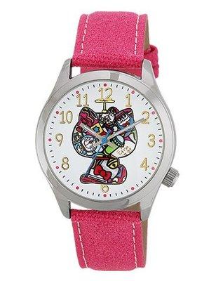 4165本通 三重店 Hello Kitty&哆啦A夢 聯名款 手錶 粉色 4937996311956