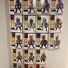 全新 18款 食玩 converge kamen masked rider 17 仮面騎士 幪面超人 拉打 01 令和 zero one faiz build