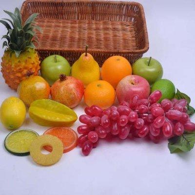 [MOLD-D271]仿真水果蔬菜套裝 假水果廚櫃裝飾食品模型 高仿真水果套裝