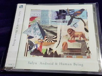 R日語(二手CD)salyu Android & Human Being~~雙歌詞~有側標