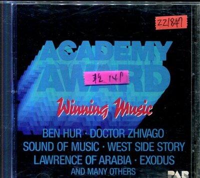 *還有唱片三館* ACADEMY AWARD WINNING MUSIC 二手 ZZ1847(需競標)