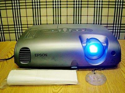 【小劉二手家電】EPSON 投影機,支援外接HDMI,外觀乾淨,附線材,現場可測試 !EMP-82型