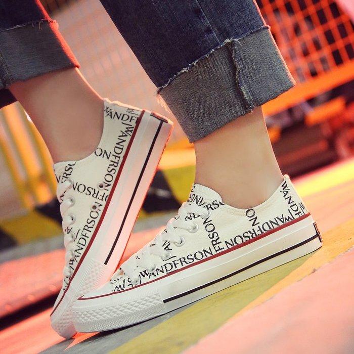 FINDSENSE品牌 四季款 新款 日本 女 高品質 懶人一腳蹬 百搭 舒適 白色帆布鞋  休閒 高幫低幫鞋 潮流鞋子