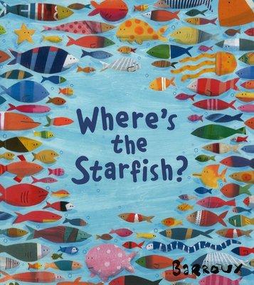 *小貝比的家 *WHERE'S THE STARFISH(中譯:海星在哪裡)/平裝/3-6歲/海洋教育