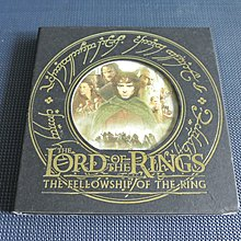 The Lord of the Rings: The Fellowship of the Ring《魔戒首部曲:魔戒現身》罕有精裝3VCD