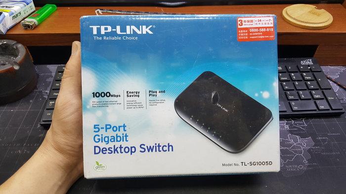 【威利購】TP-LINK TL-SG1005D 5埠Gigabit桌上型交換器