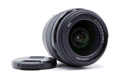 【台南橙市3C】SONY DT 18-55mm f3.5-5.6 SAM II 二代 二手鏡頭 # 34237