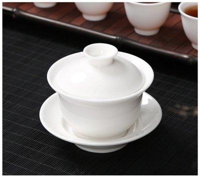 【紅芳庭】羊脂 玉瓷 蓋碗 / 180mL 蓋杯 中國白 白瓷 三才蓋碗 茶道具 茶壺 茶具 瓷器 透光