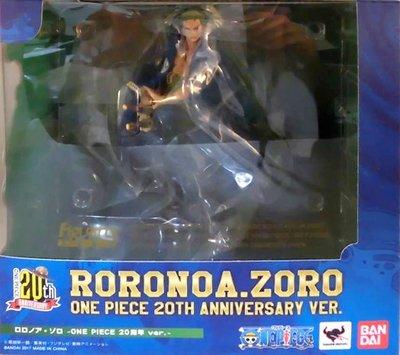 日本正版 萬代 figuarts zero 海賊王 航海王 20周年 20週年 索隆 模型 公仔 日本代購