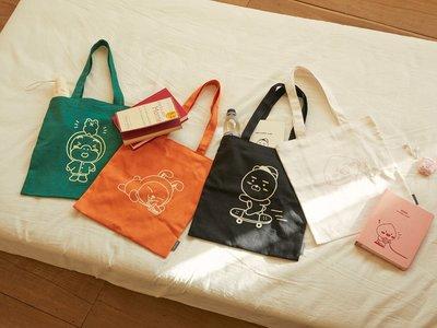 預購 KAKAO FRIENDS 韓國製 輕便帆布袋 肩背包 側背包