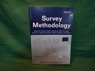 【愛悅二手書坊 16-17】Survey Methodology