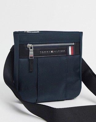 代購Tommy Hilfiger elevated nylon mini crossover bag休閒時尚斜背包郵差包