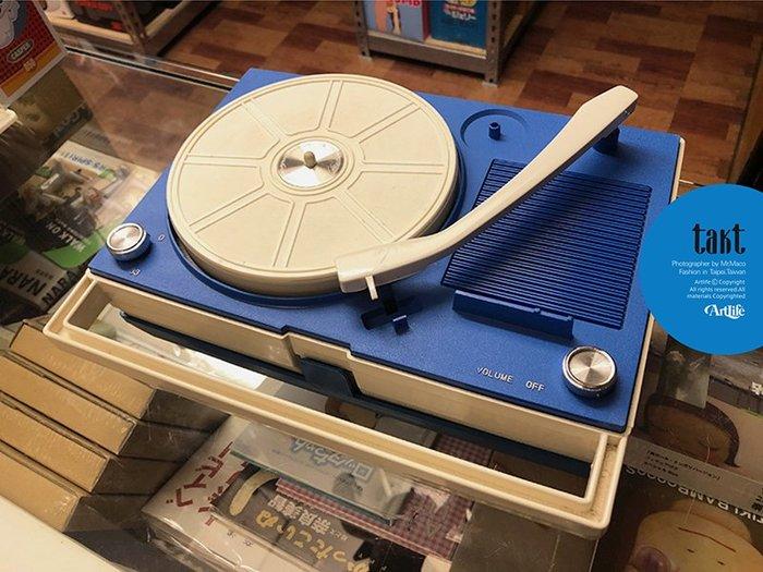 ArtLife @ TOMIKURA ELECTRIC TP33 takt レコードプレーヤー 昭和 唱片機