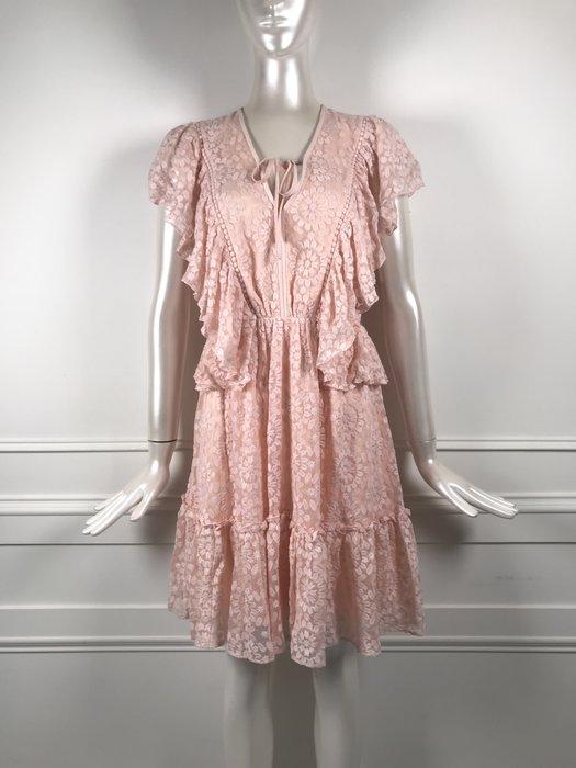 [我是寶琪] 侯佩岑二手商品 全新未穿 Kate Spade 粉色刺繡洋裝