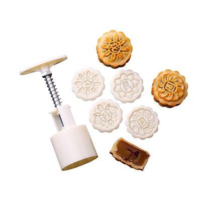 哈尼店鋪*中秋月餅模具手壓式家用多款做綠豆糕點烘焙模具廣式不粘優惠推薦