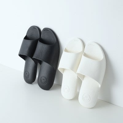 夏季黑白拖鞋/夏天春季男女士浴室洗澡防滑 情侶居家室內用涼拖鞋
