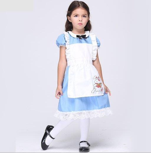 萬聖節服飾,萬聖節裝扮,聖誕舞會,兒童變裝服--兒童變裝-愛麗絲夢遊仙境/愛麗絲服裝