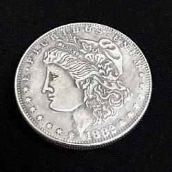 【意凡魔術小舖】銅制摩根幣(3.8cm)硬幣魔術