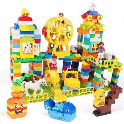 積木城堡 迷你廚房 早教益智兒童積木3-6歲寶寶大顆粒拼裝大號2男女孩智力動腦4益智玩具legao