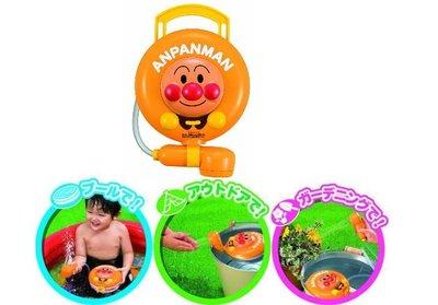 日本進口 正版 麵包超人ANPANMAN電動式 蓮蓬頭 吸水幫浦  灑水 沖水 洗澡玩具
