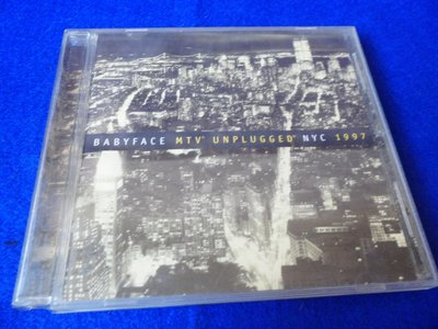 【金玉閣B-9】CD~BABYFACE MTV UNPLUGGED NYC 1997