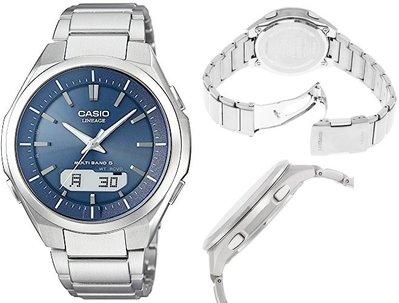 日本正版 CASIO 卡西歐 LINEAGE LCW-M500TD-2AJF 電波錶 男錶 太陽能充電 日本代購