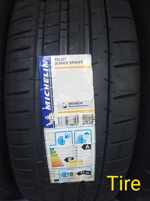 (Tire) 米其林 MICHELIN PILOT SUPER SPORT  225/45-18