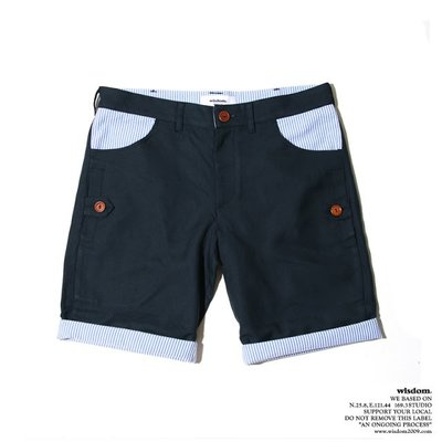 Wisdom 2012 S/S Patchwork Two Way Shorts Size:L