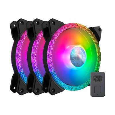 [米特3C數位]酷碼 MF120 Prismatic 晶彩扇3in1 PWM附控制器/MFY-B2DN-203PA-R1