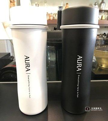 【TDTC 咖啡館】AURA 艾樂 經典復刻陶瓷保溫瓶 / 保溫杯 - 450ml (霧黑 / 白色)