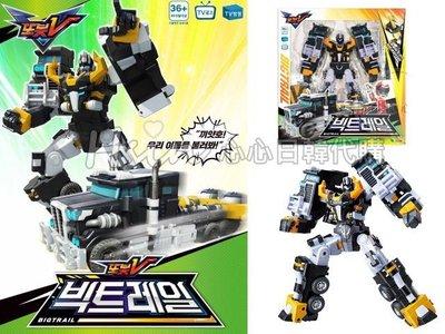 台北可自取【Hsin】韓國境內版新 機器戰士TOBOT V 黑色 拖板車 / 綠色卡車合體 變形機器人/韓國卡通玩具