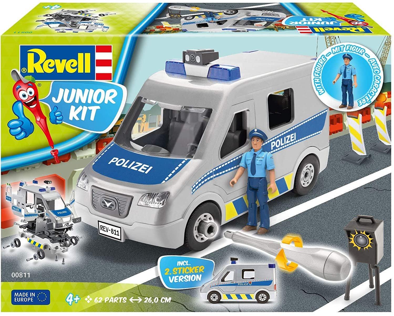 REVELL 兒童模型系列 警備車62件組~請詢問庫存