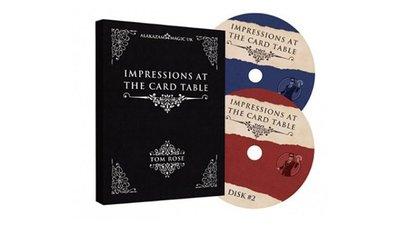 [魔術魂道具Shop]令人印象深刻的紙牌魔術~~Impressions at the Card Table