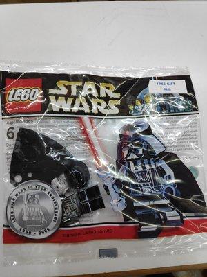 旺角店鋪現貨全新未拆袋 Lego Star Wars Darth Vader  4547551 電鍍