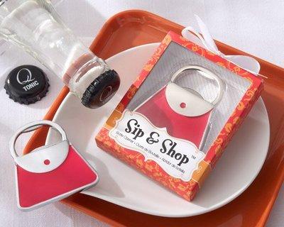 樂芙 提包開瓶器禮盒 * 婚禮小物 仕女提包 手提包造型 迎賓送客禮 開罐器禮盒 工商禮贈品 抽獎禮