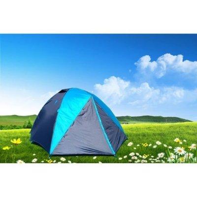 【SAMCAMP 噴火龍】豪華6~8人雙門銀膠蒙古包帳篷(300型) - 抗紫外線不透光/隔熱佳 ※內帳升級為鋁合金營柱