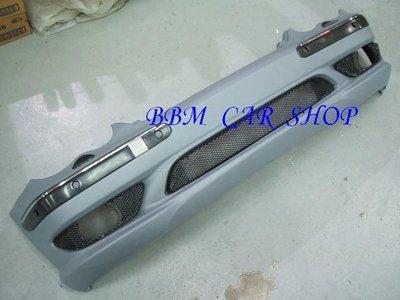 BENZ W203 C-CLASS AMG TYPE 大包組 .前保.側裙.後保 可分售  ( P.P. 材質)