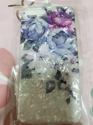紫花貝殼紋iPhone 7plus 手機殼